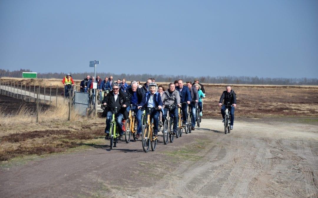 Opening nieuw fietspad in het Dalum-Wietmarscher Moor